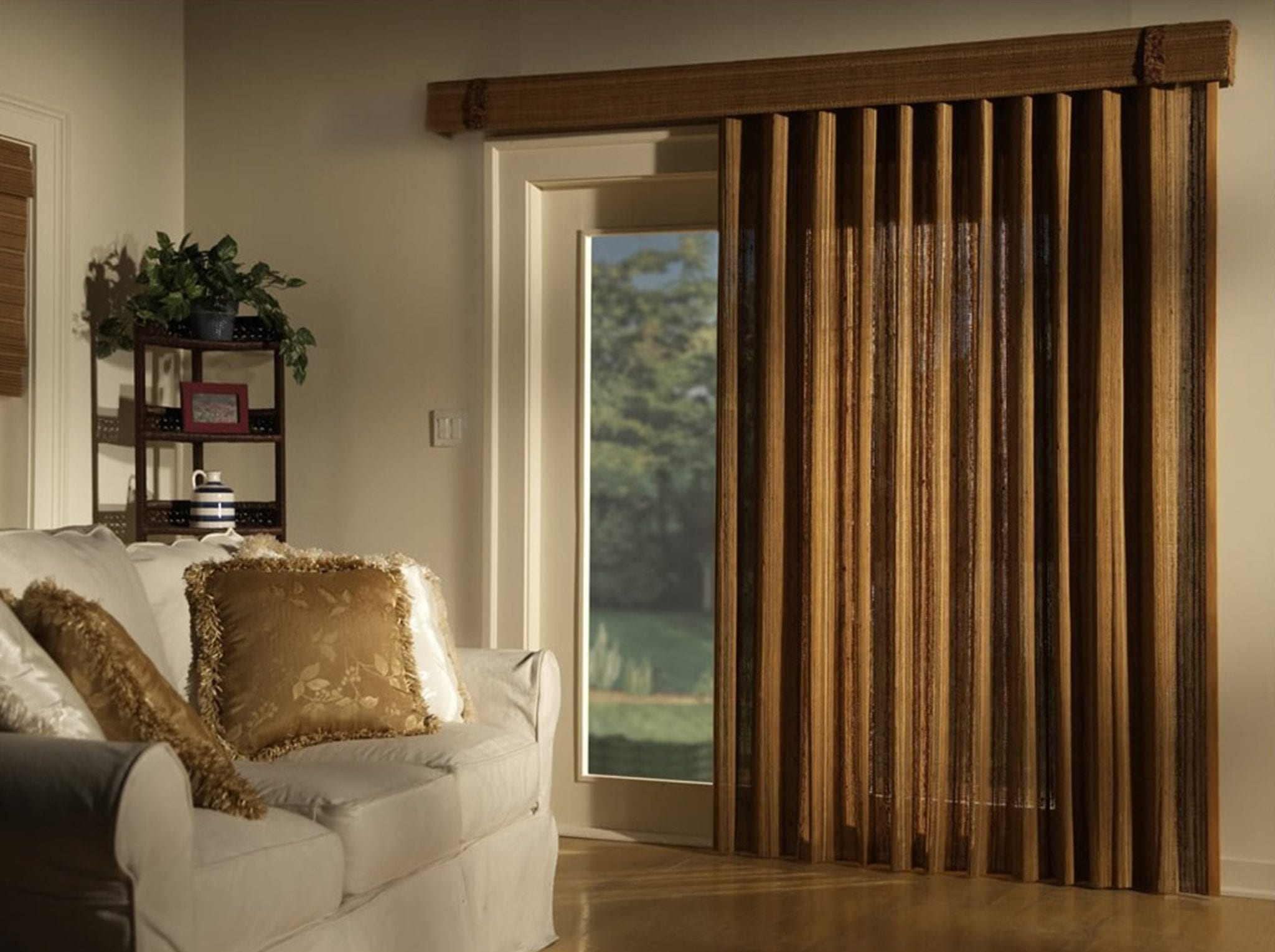 Bamboo V 0003 Bamboo Vertical Blinds Patio Doors Patios